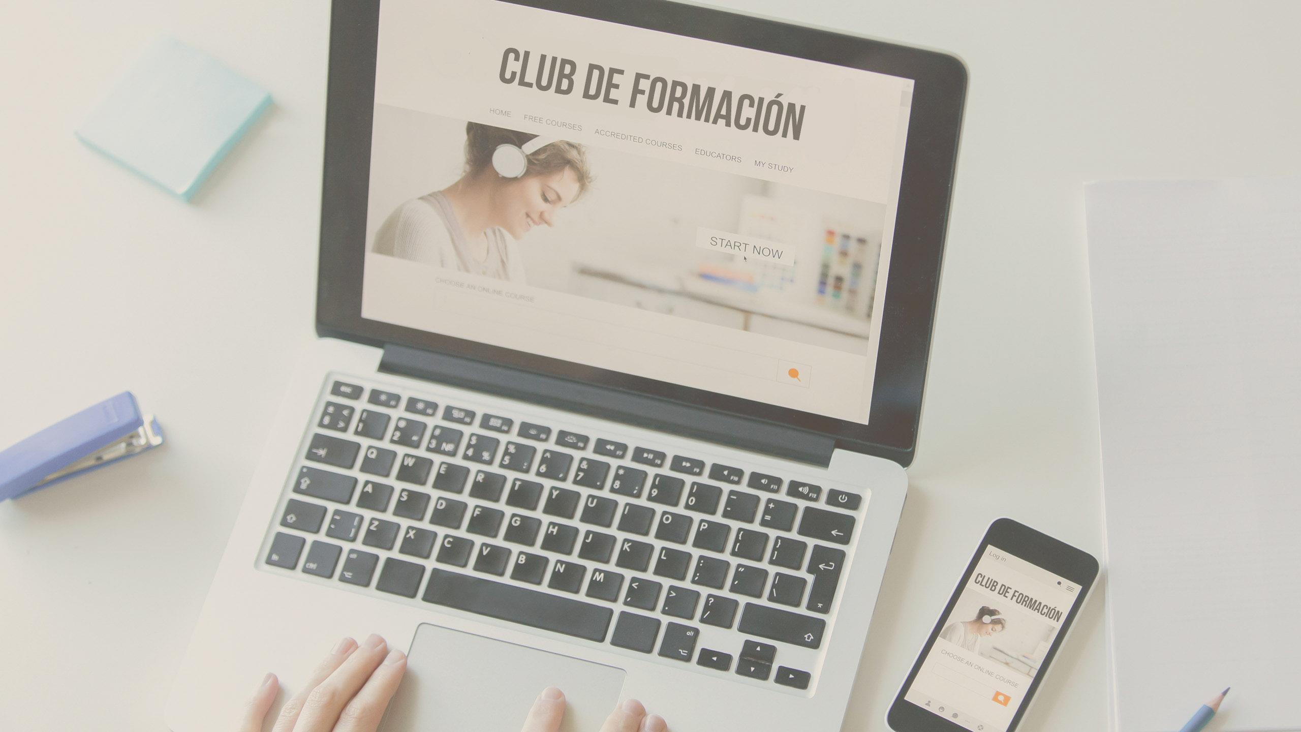 Inscríbete a los Clubs de Formación