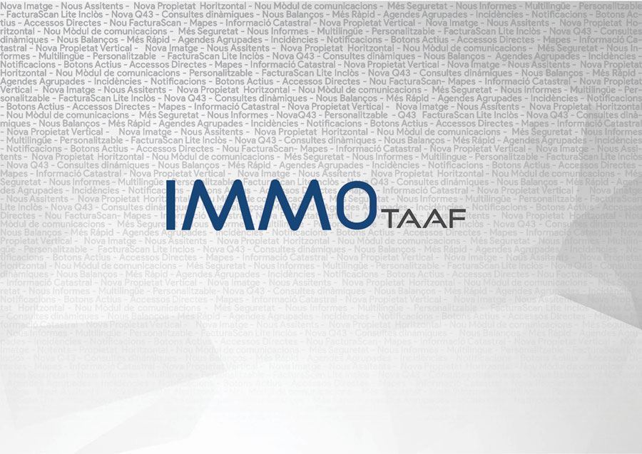 IMMO se actualiza con muchas novedades